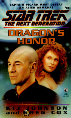 Image for Dragon's Honor (Star Trek: The Next Generation, No. 38)