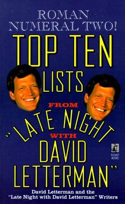 TOP TEN LISTS #002, LETTERMAN, DAVI