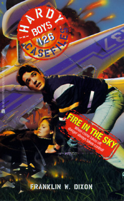 Image for FIRE IN THE SKY HARDY BOYS CASEFILES 126