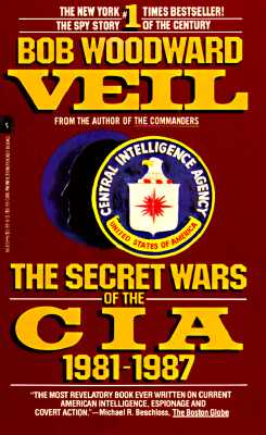 Image for Veil: The Secret Wars Of The Cia, 1981-1987