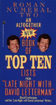 Image for ALTOGETHER NEW BOOK OF TOP TEN LISTS