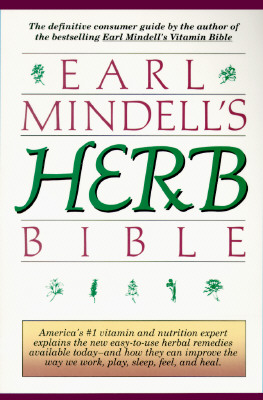 Image for Earl Mindell's Herb Bible