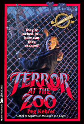 Image for Terror at the Zoo (A Minstrel Book)