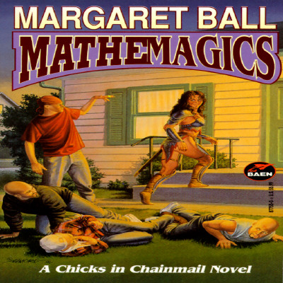 Image for Mathemagics (Chicks in Chainmail)