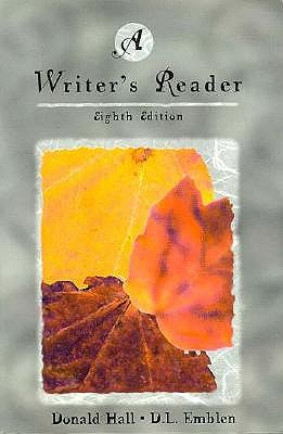 Image for A Writer's Reader
