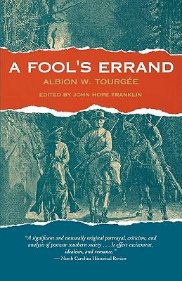 Image for A Fool's Errand (The John Harvard Library)