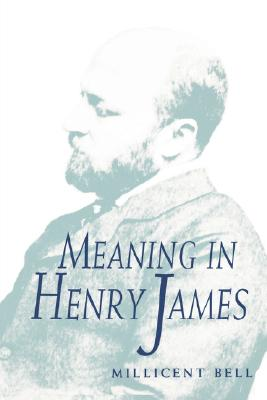 Image for Meaning in Henry James