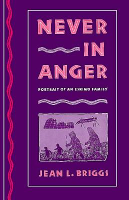 Image for Never in Anger: Portrait of an Eskimo Family