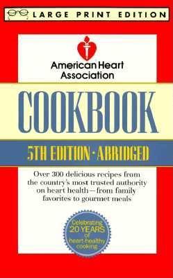 Image for American Heart Association Cookbook