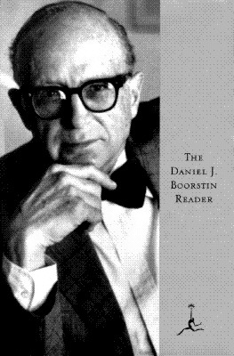 Image for The Daniel J. Boorstin Reader (Modern Library)