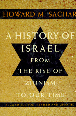 Image for A History of Israel: From the Rise of Zionism to Our Time (Second Edition, Revised and Updated) (v. 1)