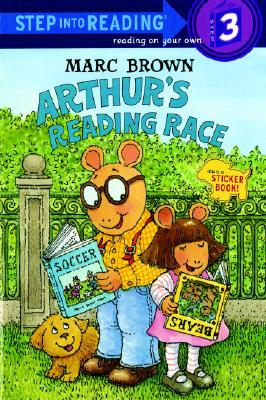 Arthur's Reading Race (Step-Into-Reading, Step 3), Brown, Marc