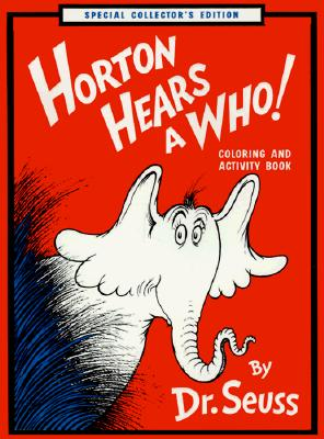 Image for HORTON HEARS A WHO! COLORING AND ACTIVITY BOOK