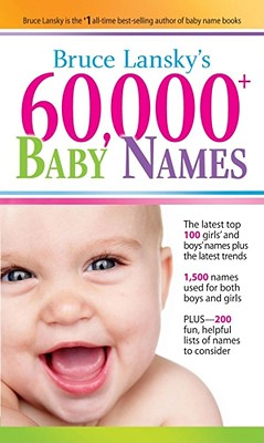 Image for 60,000+ Baby Names