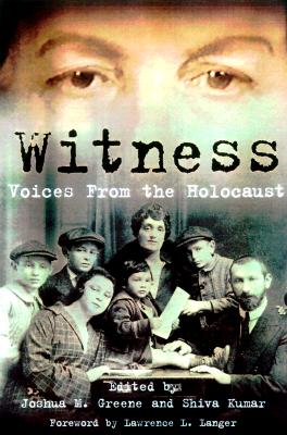 Image for Witness: Voices from the Holocaust