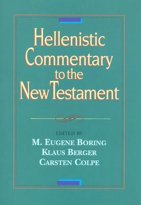 Image for Hellenistic Commentary to the New Testament