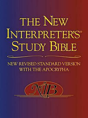 Image for NEW INTERPRETER'S STUDY BIBLE, THE NEW REVISED STANDARD VERSION WITH THE APOCRYPHA