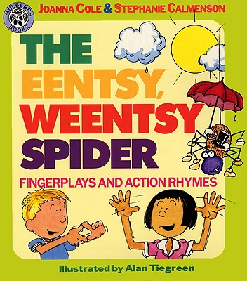 Image for The Eentsy, Weentsy Spider  Fingerplays and Action Rhymes