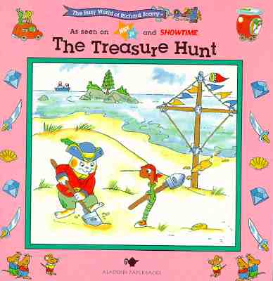 Image for Richard Scarry: Treasure Hunt (The Busy World of Richard Scarry)