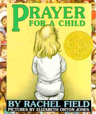 Image for Prayer For A Child Board Book