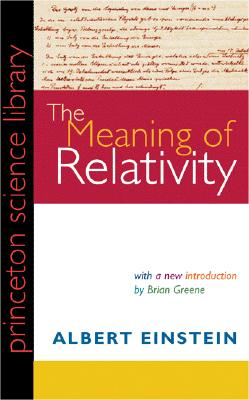 Image for The Meaning of Relativity