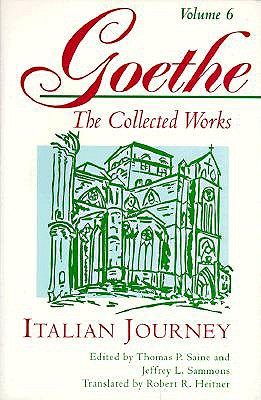 """Image for """"Italian Journey (The Collected Works, Volume 6)"""""""