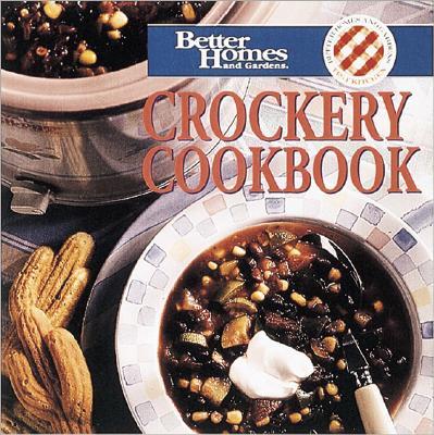 Image for Crockery Cookbook (Better Homes & Gardens)