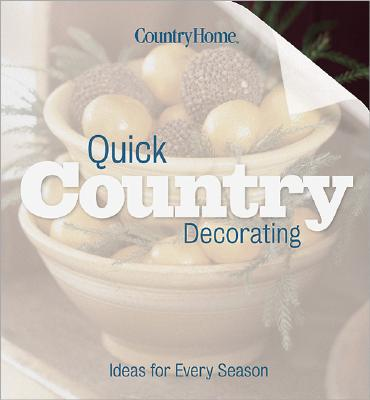Image for QUICK COUNTRY DECORATING