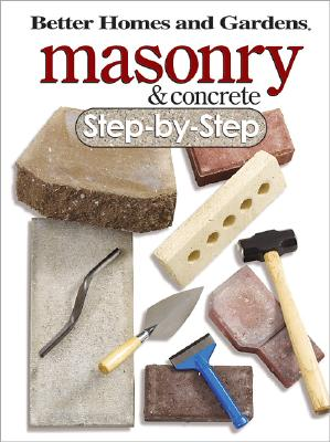 Image for MASONRY & CONCRETE STEP-BY-STEP