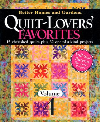 Image for Quilt-Lovers' Favorites, Volume 4 (Better Homes and Gardens Cooking)