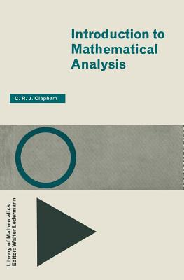 Image for Introduction to Mathematical Analysis (International Library of Psychology, Philosophy and Scientif)