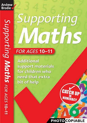 Image for Supporting Maths for Ages 10-11