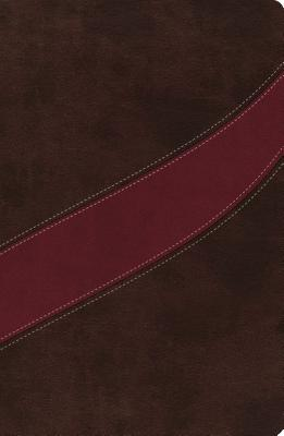 Image for The NASB, MacArthur Study Bible, Leathersoft, Brown/Red: Holy Bible, New American Standard Bible