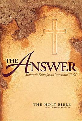 Image for The Answer Bible