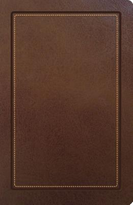 """Image for """"''NKJV, Ultraslim Classic Edition Reference Bible (Thumb Index, Brown)''"""""""