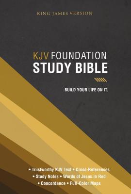 "Image for ""''KJV Foundation Study Bible, Hardcover''"""