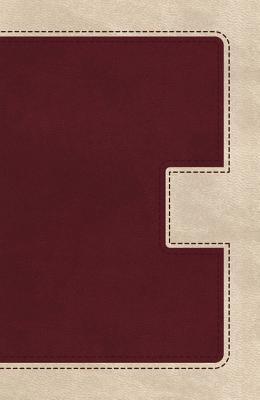 "Image for ""KJV UltraSlim Bible (Indexed, BurgundyCream Imitation Leather)"""