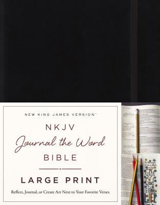 "Image for ""''NKJV Journal the Word Bible, Large Print, Hardcover''"""