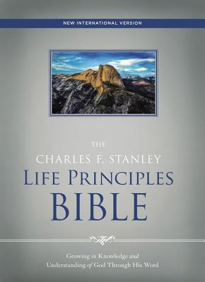 Image for NIV, The Charles F. Stanley Life Principles Bible, Hardcover, Red Letter Edition