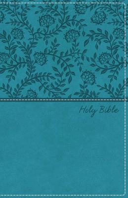 Image for KJV, Deluxe Gift Bible, Imitation Leather, Turquoise, Red Letter Edition