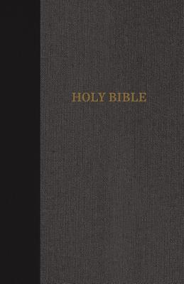 "Image for ""KJV Thinline Bible (Large Print, BlackGray)"""