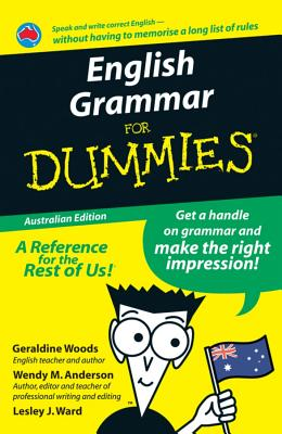 Image for English Grammar for Dummies Australian Edition