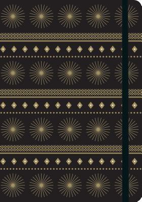 Image for Modern Gold Starburst Gilded Journal