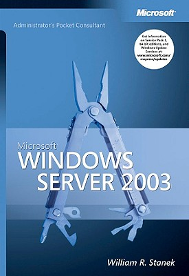 Image for Microsoft Windows Server 2003 Administrator's Pocket Consultant (Pro-Administrator's Pocket Consultant)
