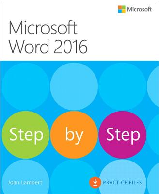 Image for Microsoft Word 2016 Step By Step