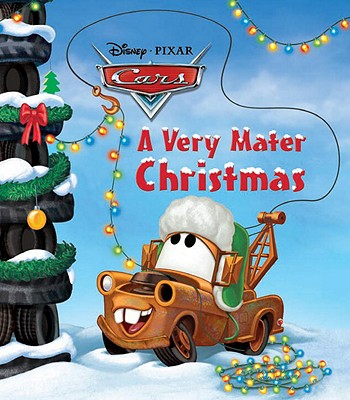 Image for A Very Mater Christmas (Disney/Pixar Cars) (Glitter Board Book)