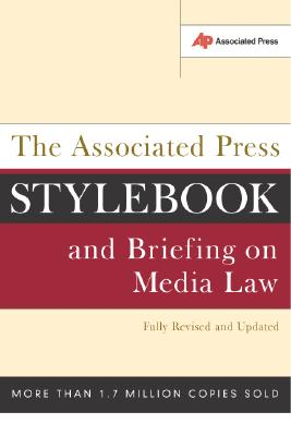 Image for ASSOCIATED PRESS STYLEBOOK AND BRIEFING ON MEDIA L