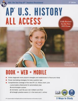 Image for AP® U.S. History All Access Book + Online + Mobile (Advanced Placement (AP) All Access)