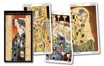 Golden Tarot of Klimt (Lo Scarabeo Decks) (English and Spanish Edition), Lo Scarabeo