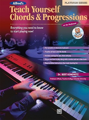Teach Yourself Chords and Progressions at the Keyboard (Book & CD), Konowitz, Bert